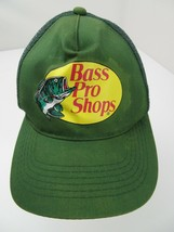 Bass Pro Shops Gone Fishing Green Trucker Snapback Adult Cap Hat - $12.86