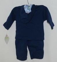 SnoPea Baby Boy Blue Ariplanes Long Sleeve Outfit 6 Months image 1