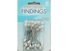 Horizon Jewelry Essentials Corsage Pins, 42 Pieces #JC11514-101