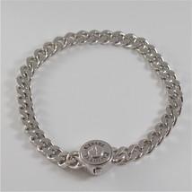 Bracelet Cesare Paciotti 925 Silver & Steel Top Groumette JPBR1269B - $139.20