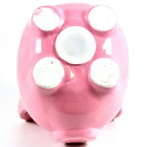 Applesauce Pink Pig Baby Ceramic Still Piggy Savings Bank image 7