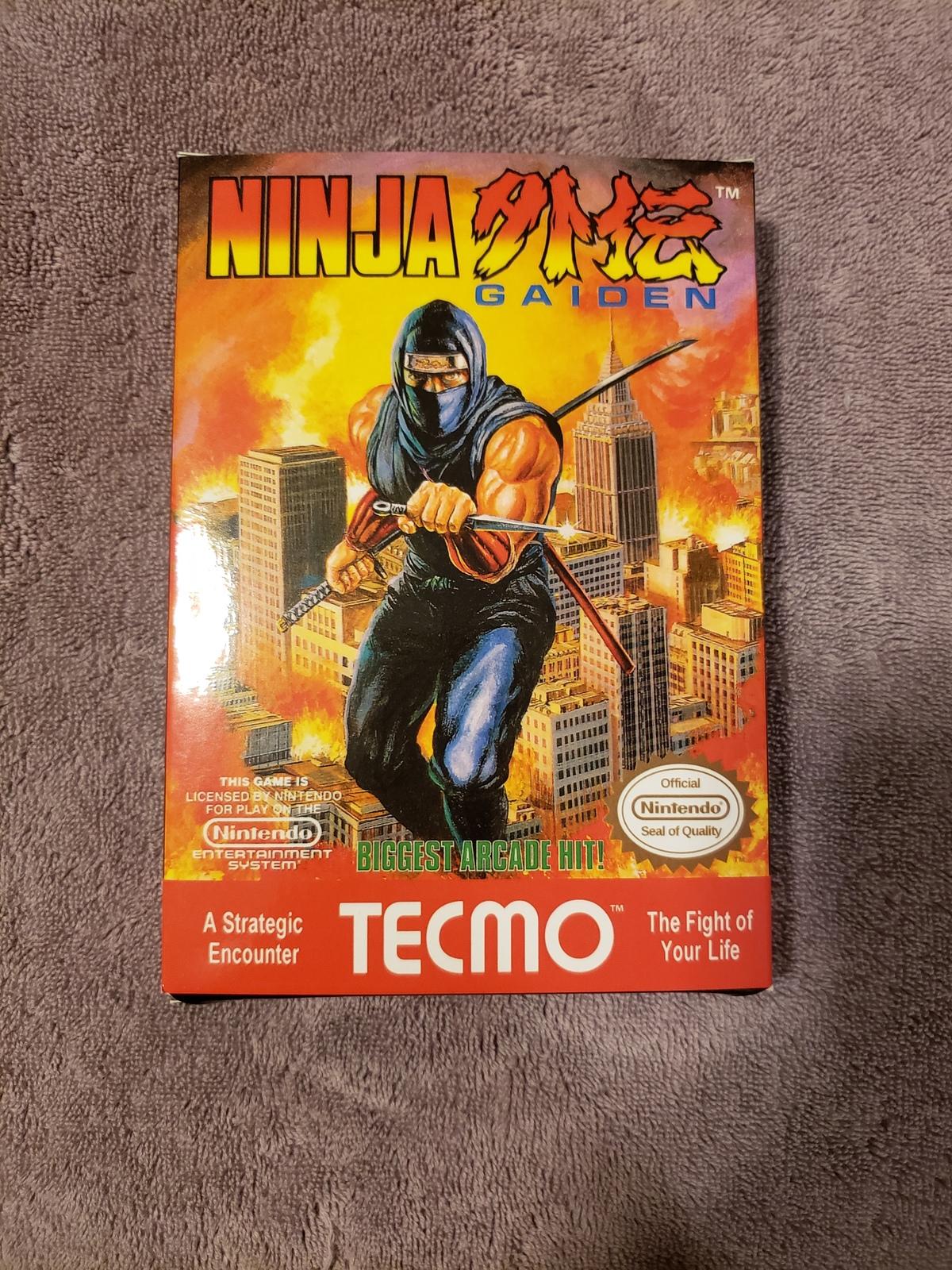 Ninja Gaiden Nes Nintendo Entertainment And Similar Items
