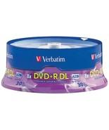 Verbatim 96542 8.5GB Dual-Layer DVD+Rs (30-ct Spindle) - $59.46