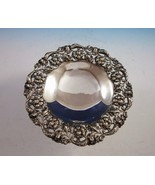 Meriden Brittania Sterling Silver Fruit Bowl Footed Pierced Design #896 ... - $989.00
