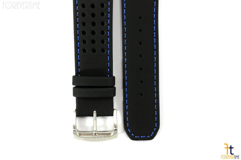 Citizen 59-S52492 Original 22mm Black Leather Watch Band AT7030-05E 4-S079870