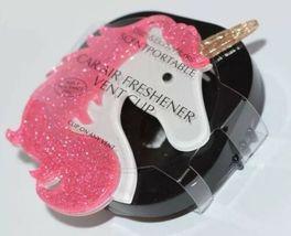 Bagno Creme Corpo Luccicante Rosa Unicorno Scentportable Deodorante per Auto image 3