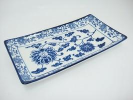 """Pier 1 Imports Tang Sushi Platter Rectangular Porcelain Tray 9.75"""" x 5.5... - $14.84"""