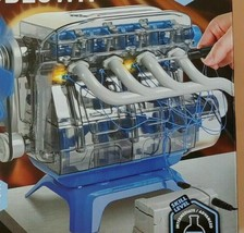 Discovery Mind Blown Model Engine Kit Mindblown Moving Motor Parts LED L... - $24.70