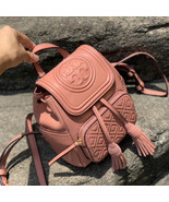 Tory Burch Fleming Leather Mini Backpack - $280.00