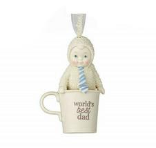 "Department 56 Snowbabies World's Best Dad 3.54"" Porcelain Figurine  #405... - $19.99"