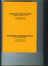 Birthplace Tables Of Houses for Northern Latitudes 0 to 60 Degrees 1975 ... - £7.64 GBP