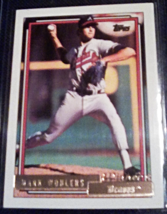 1992 topps Gold Winner Mark Wohlers Rookie Baseball card number 703  - $3.75