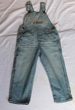 OshKosh B'GOSH Toddler 4T Denim Blue Jean Overall Pant  Cotton Boy Girl NWT Sz 4 - $19.80