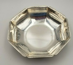 Vintage Randahl Chicago Arts & Crafts Sterling Silver Hand Hammered Bowl... - $550.00