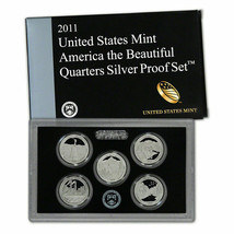 2011 Clad and Silver Proof America the Beautiful Sets CP3667 - $49.95