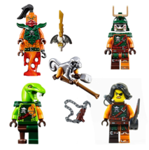 LEGO® Ninjago 5 Skybound Pirate Army - Clancee Cyren Doubloon Monkey Nad... - $29.20