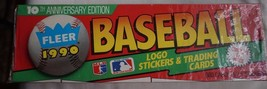 Fleer 1990 10th Anniversary Edition Factory Sealed Baseball Cards - $8.10