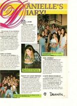 Danielle Fishel teen magazine pinup clipping birthday girl at her house ... - $2.00