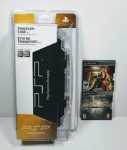 Sony PSP Traveler Case (PSP 2000, 3000) + God Of War Game 2-Pack - BRAND NEW - $18.80