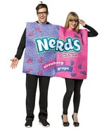 Nerds Couples Costume Retro Candy Purple Pink Food Halloween Party Uniqu... - $68.99