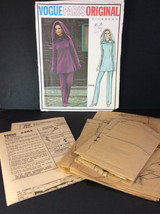 Vtg Vogue Paris Sewing Pattern 2484 Givenchy Size 10 Misses Tunic Pants ... - $52.00
