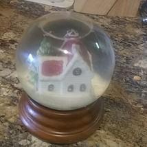 San Francisco Music Box Company Christmas Tree Musical Snow Globe Lighted - $55.25