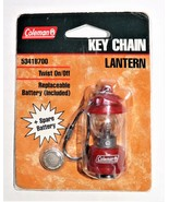 1980s/1990s Colman Red Lantern Keychain Model 5341B700 in Factory Packaging - $99.95