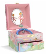 JewelKeeper Musical Jewelry Box with Spinning Ballerina, Rainbow and Gol... - $15.05