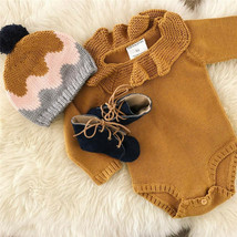 2019  Kids Baby Girls Knitting Wool Romper Bodysuit Jumpsuit Outfits Clo... - $11.39