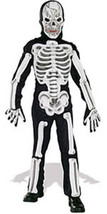 Boys EVA Skeleton Halloween Costume 5-7 Years - $21.00
