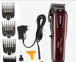 Professional Rechargeable Electric Hair Clipper Cordless 100-240V Kemei KM-2600