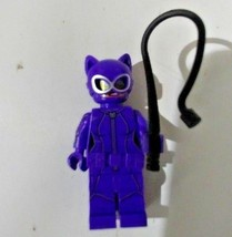 Lego DC Batman Movie Catwoman Minifigure 70902 With Whip - $4.99