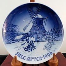 "Bing & Grondahl Christmas Plate ""Winter At The Old MIll"" - 1996 Edition - £14.65 GBP"