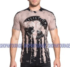 Affliction AC Two Stroke Stitch A17473 New Short Sleeve Graphic T-shirt ... - $50.38