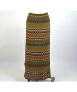 Double D Ranch Maxi Skirt Chevron Stripe Multi Color Long Pencil Size M ... - $44.54