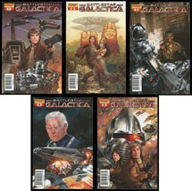 Battlestar Galactica Classic Comic Set 1 2 3 4 5 Dave Dorman Cvr Art Cyl... - $25.00