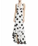 Sachin & Babi Dress Gabriella Sleeveless polka dots Sz 14 NEW NWT - $399.00