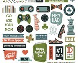 Rad Dad Ephemera Cardstock Die-Cuts-