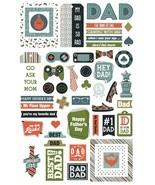 Rad Dad Ephemera Cardstock Die-Cuts-  - $12.97