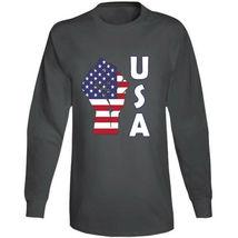 Fight Power Usa Long Sleeve T Shirt image 4