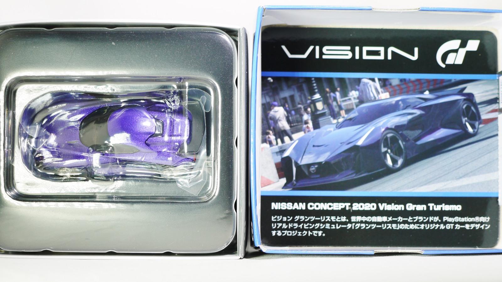 TOMICA TOMYTEC VINTAGE NEO GT NISSAN CONCEPT 2020 Vision Gran Turismo Blue