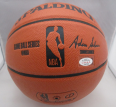 MICHAEL JORDAN / NBA HALL OF FAME / AUTOGRAPHED FULL SIZE NBA BASKETBALL / COA image 4