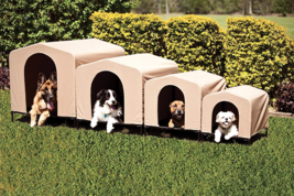 Portable Dog House Outdoor Pet Kennel For Extra Large Dogs Collapsible L... - $167.19
