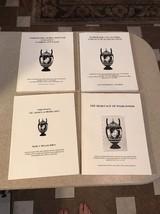 Set of 4 Wedgwood International Wedgwood Seminar Books Keith McLeod - $24.99
