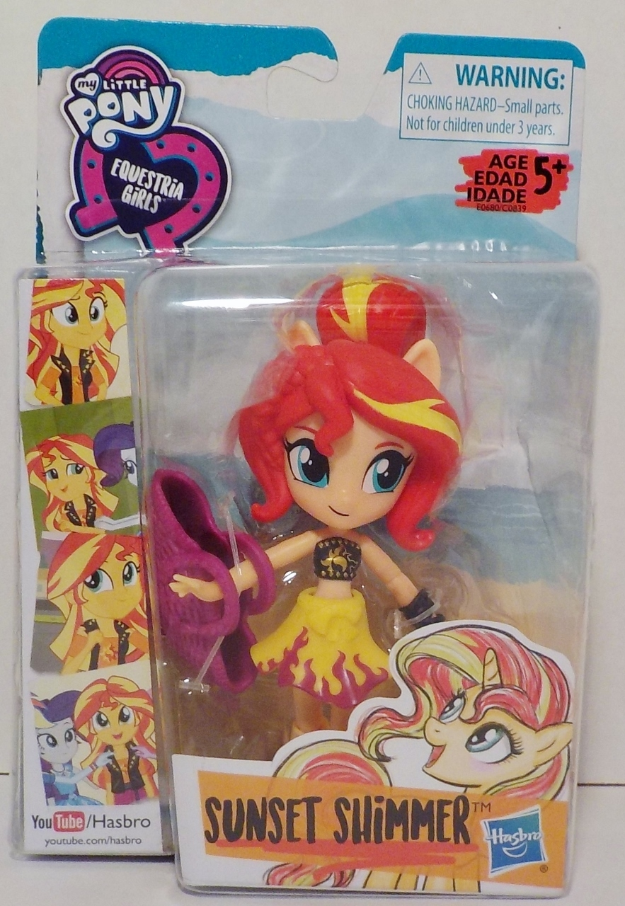 My Little Pony Equestria Girls Doll Sunset Shimmer Beach Collection 2017 image 4