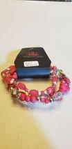 Paparazzi Bracelet (New) Girl Boss Pink Bracelet #5012 - $7.61