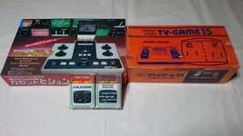Epoch Cassette Vision Game Console + 2 Games & Nintendo TV Game 15 Conso... - $396.00