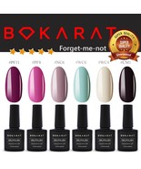 Bokarat Flower Set 7.3ml x 6pcs ~Forget-me-not~ Soak Off Gel Nail Polish... - $21.99
