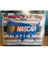 NASCAR Nation Flag 3' x 5' Banner New Free Shipping - $15.79