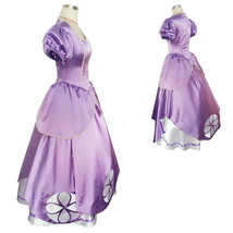 Disney Adult Women First Princess Sophia Sofia Dress Cosplay Costume - $115.45